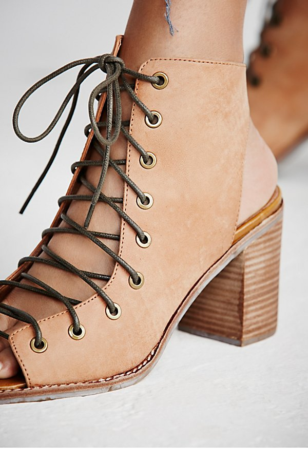 Slide View 5: Minimal Lace Up Heel