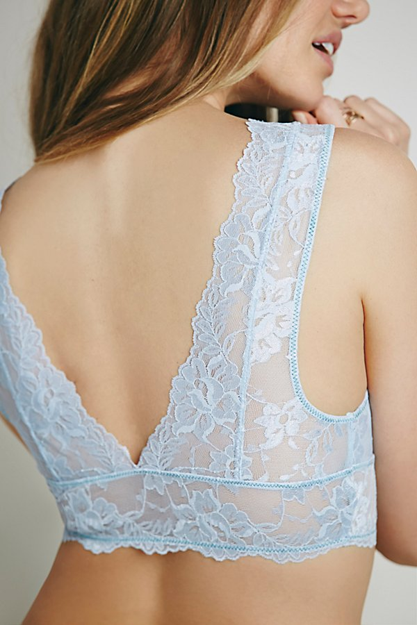 Slide View 3: Galloon Lace Deep V Bra
