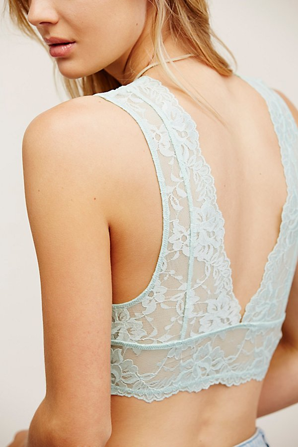 Slide View 5: Galloon Lace Deep V Bra
