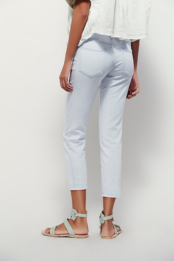Slide View 3: Rolled Cropped Skinny