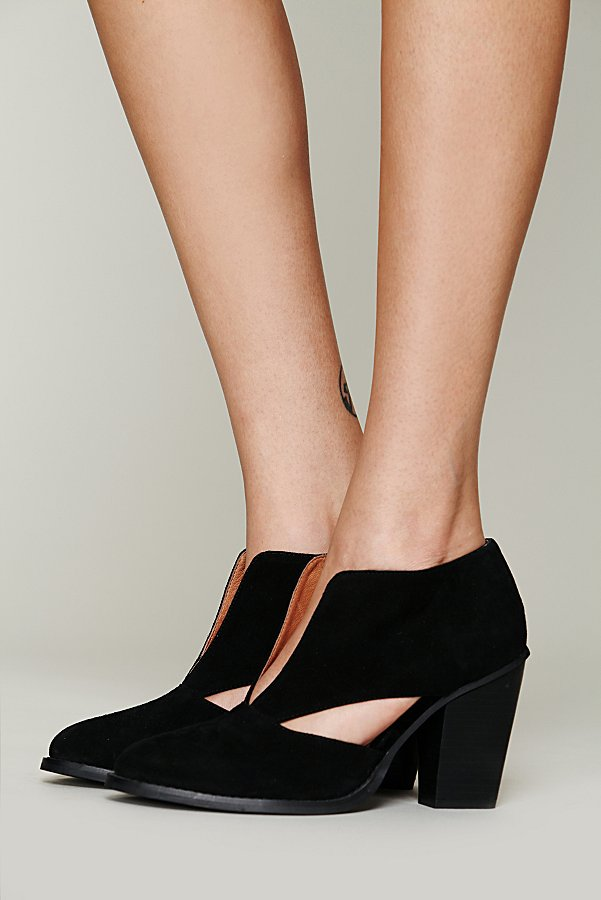 Slide View 2: Deep V Ankle Boot
