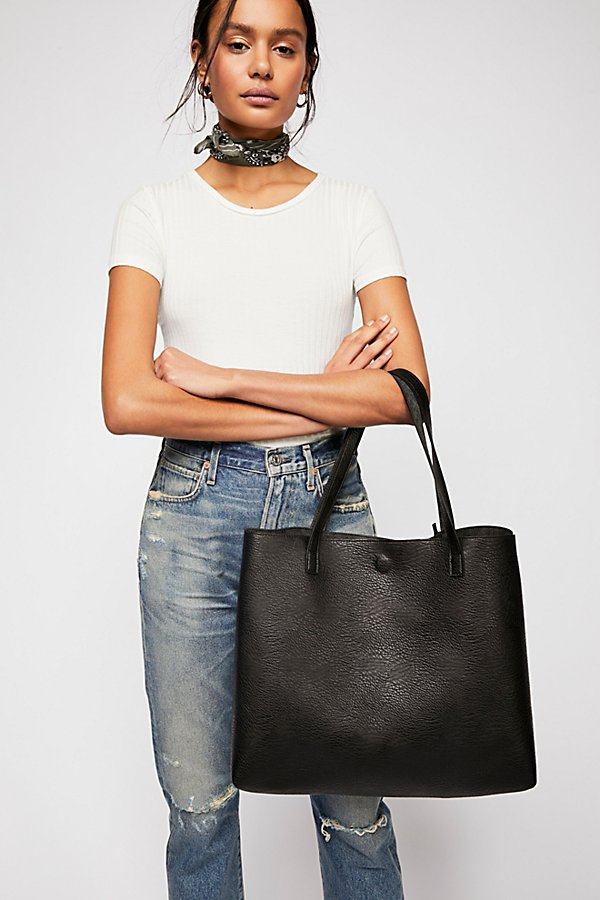 Slide View 1: Slouchy Vegan Tote