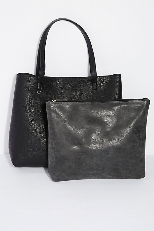 Slide View 4: Slouchy Vegan Tote