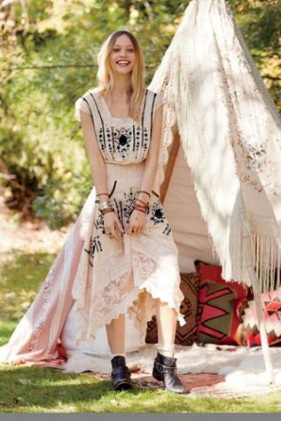 Free People Womens FP New Romantics Delphine Dress