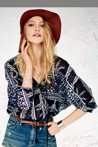 Free People Womens Second Thoughts Top