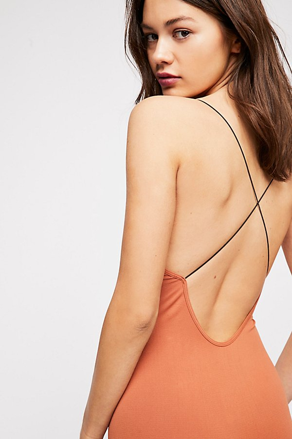 Slide View 4: Low Back Seamless Playsuit