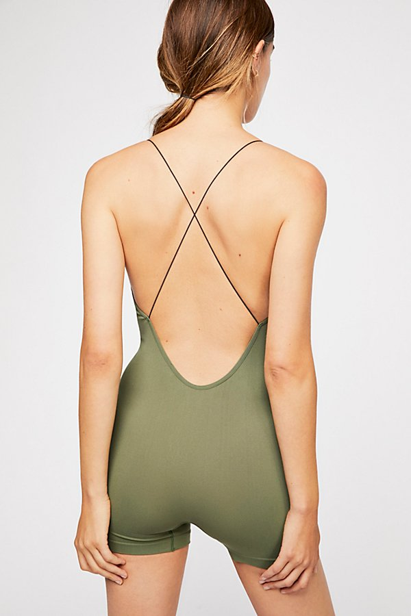 Slide View 2: Low Back Seamless Playsuit