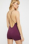 Thumbnail View 1: Low Back Seamless Romper