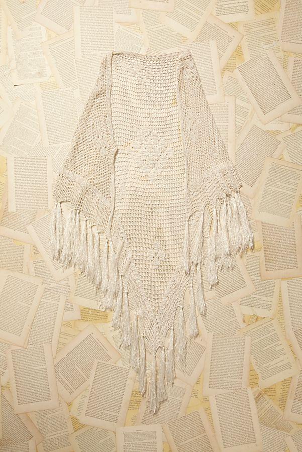 Vintage Crochet Shawl Free People