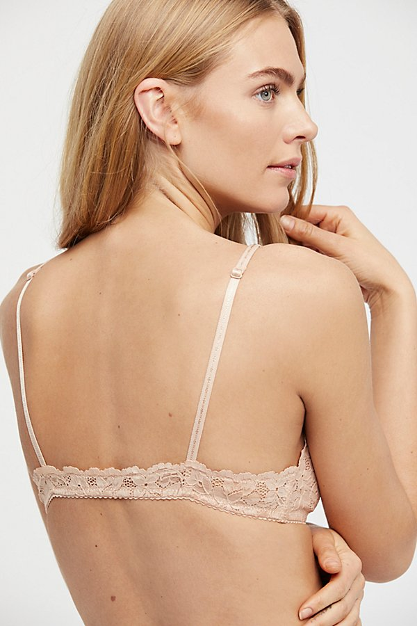 Slide View 2: Front Strap Triangle Bra