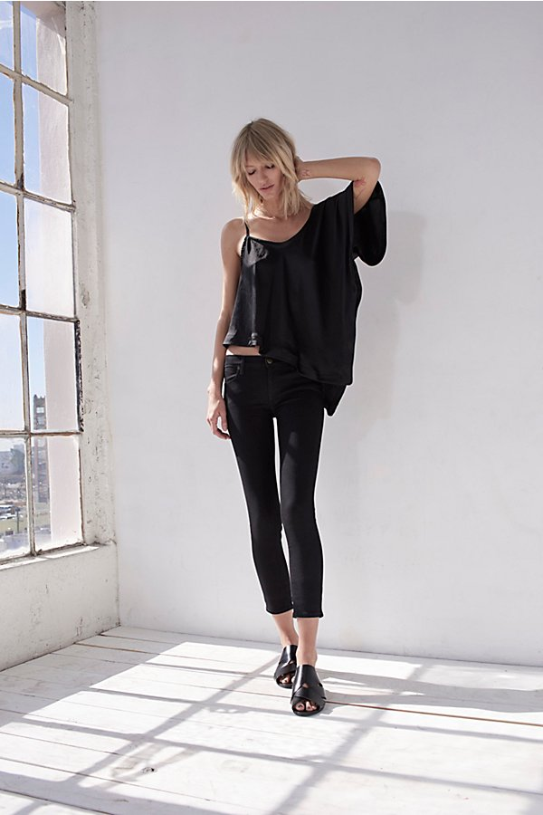 High Rise Roller Skinny  by Free People