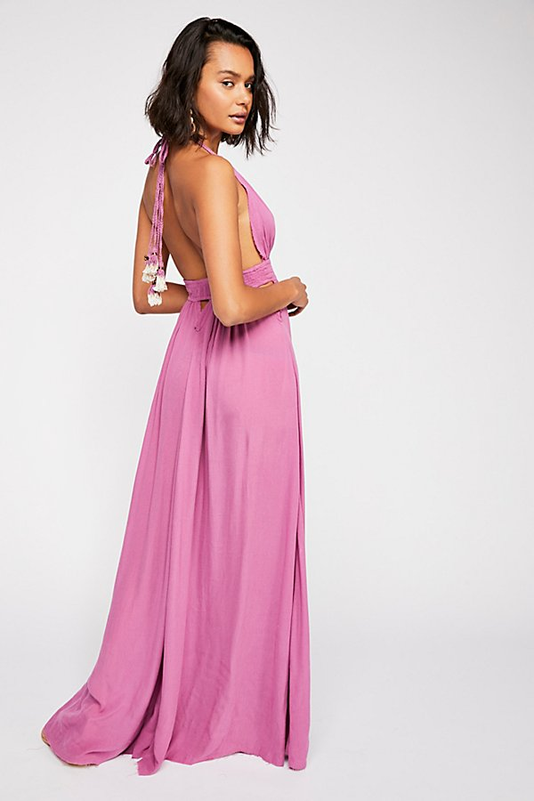 Slide View 3: Look Into the Sun Maxi Dress