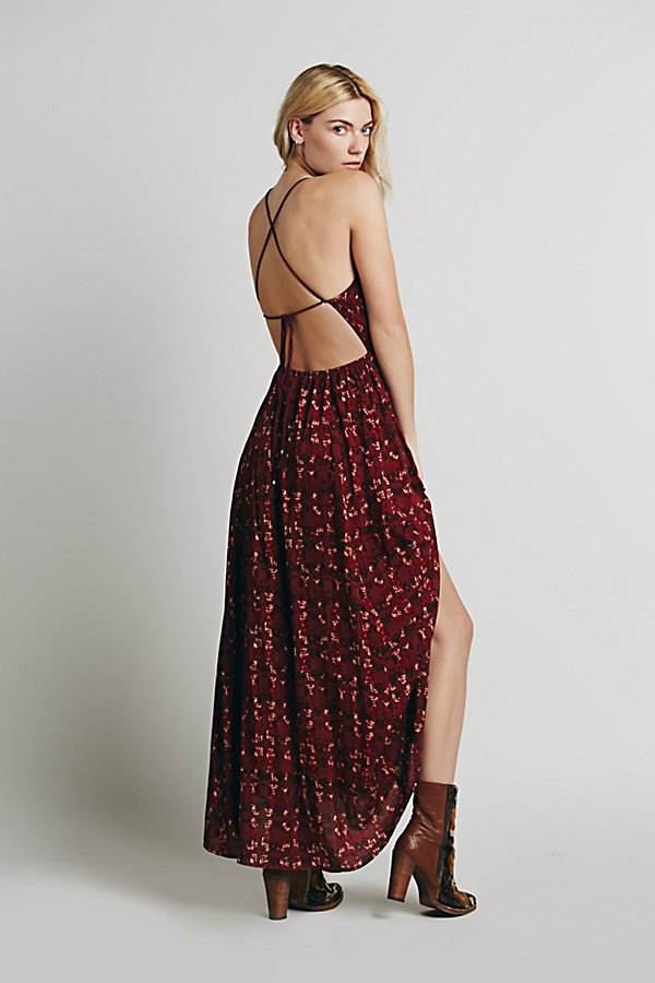 Slide View 1: Sugar Town Printed Maxi