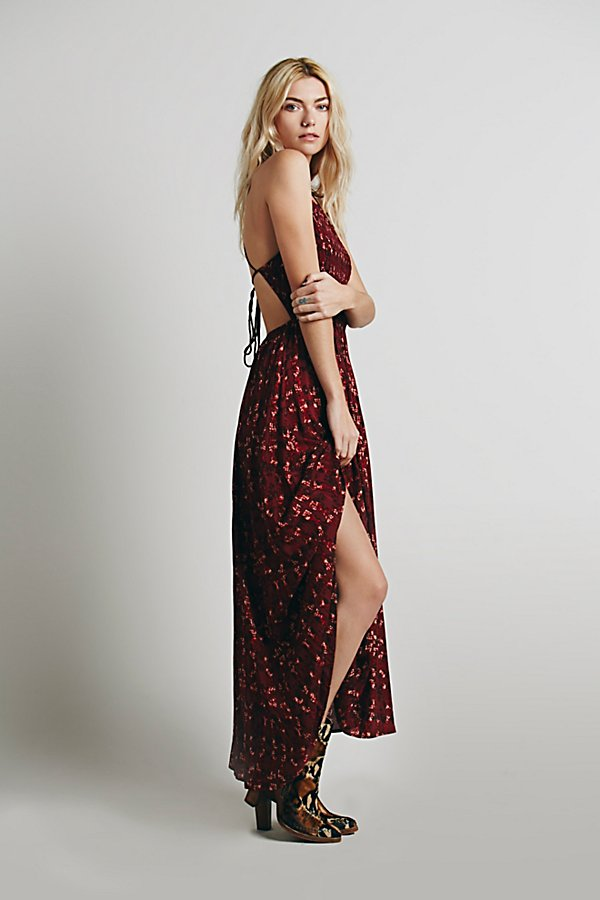 Slide View 3: Sugar Town Printed Maxi