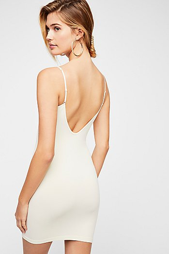 Seamless Low Back Mini Slip