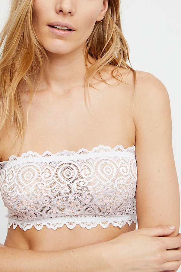 Slide View 3: Seamless and Lace Reversible Bandeau