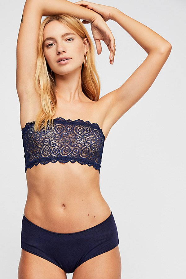 Slide View 2: Seamless and Lace Reversible Bandeau