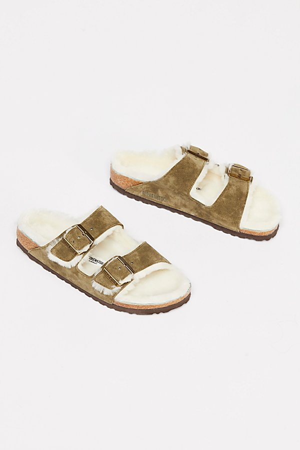 Slide View 2: Arizona Shearling Birkenstock Sandal