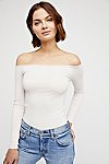 Thumbnail View 2: Off -The-Shoulder Solid Top
