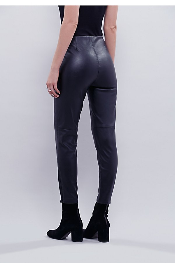 Slide View 4: Lana Vegan Leather Legging