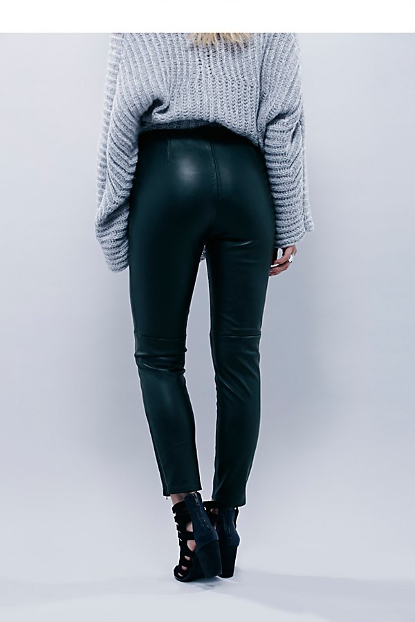 Slide View 3: Lana Vegan Leather Legging