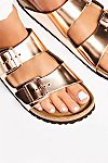 Thumbnail View 3: Arizona Metallic Birkenstock Sandal