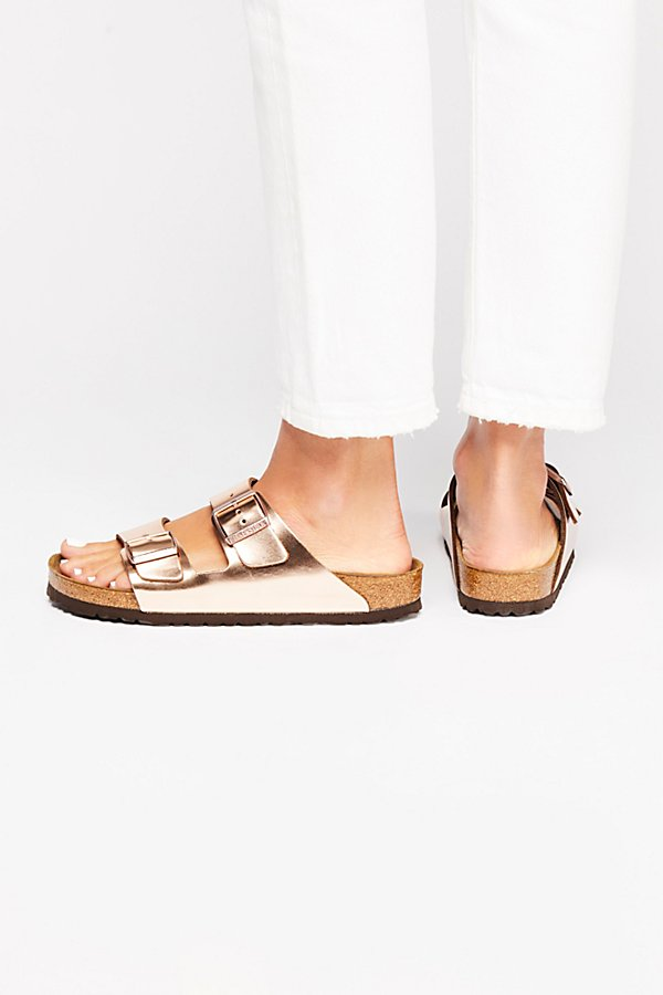 Slide View 4: Arizona Metallic Birkenstock Sandal
