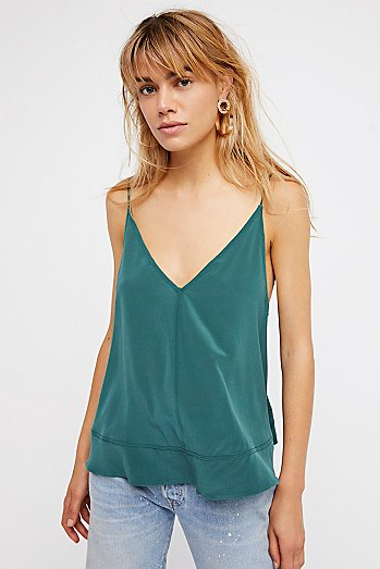 Up All Night Silk Cami
