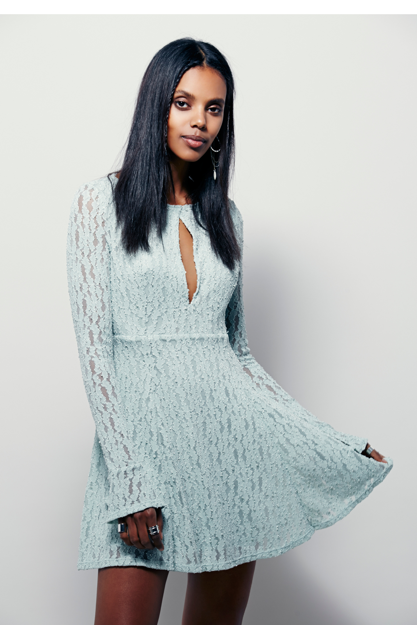 Lacey Fit And Flare Dress | Free People