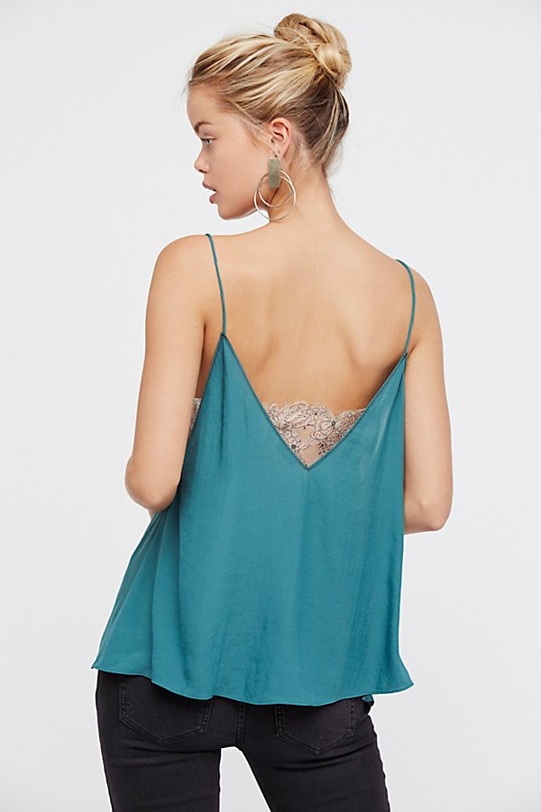 Slide View 1: Deep V Bandeau Cami