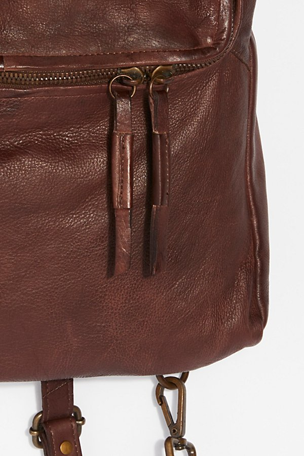 Slide View 3: Loved Leather Messenger