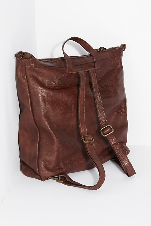 Slide View 4: Loved Leather Messenger