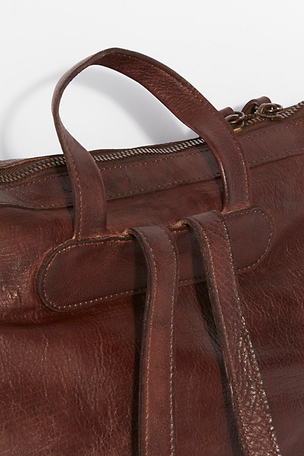 Slide View 5: Loved Leather Messenger