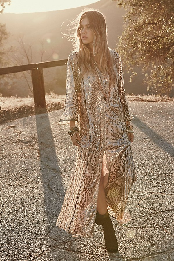 Silver Maxi by Anna Sui at Free People