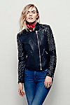 Thumbnail View 5: Doma Studded Biker Jacket