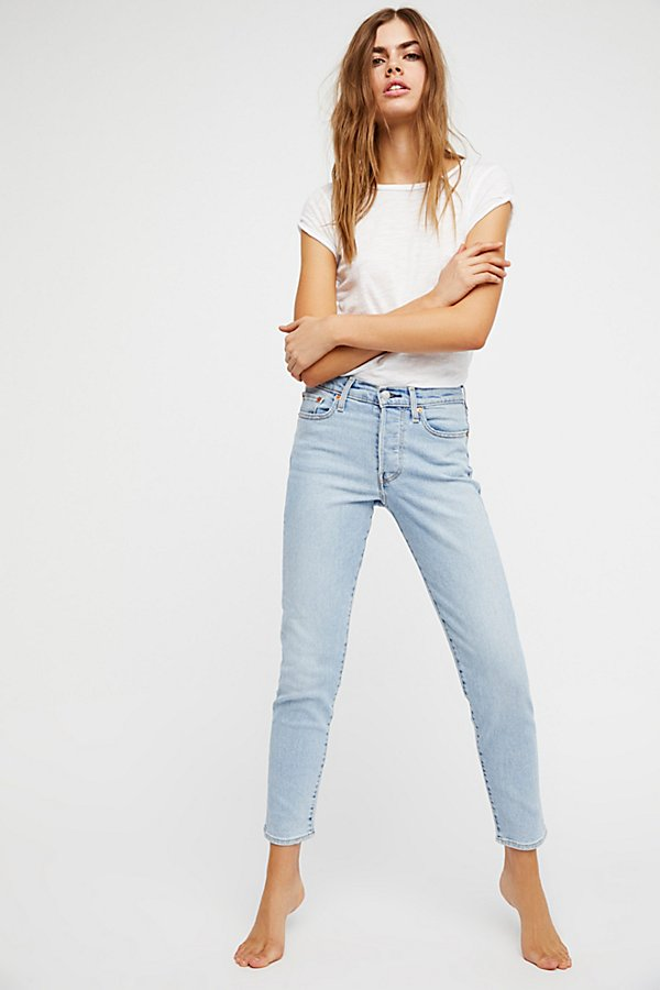 Slide View 1: Levi's Wedgie Icon High Rise Jeans