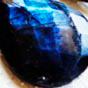 蓝色月光石
