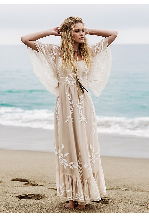 Enchanted Forest Maxi Dress   Free People