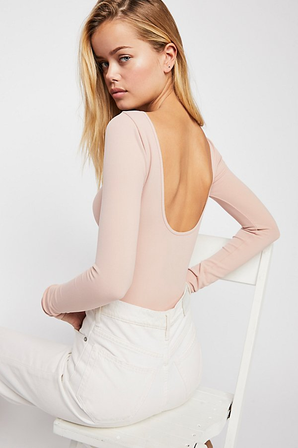 Slide View 1: Low Back Bodysuit