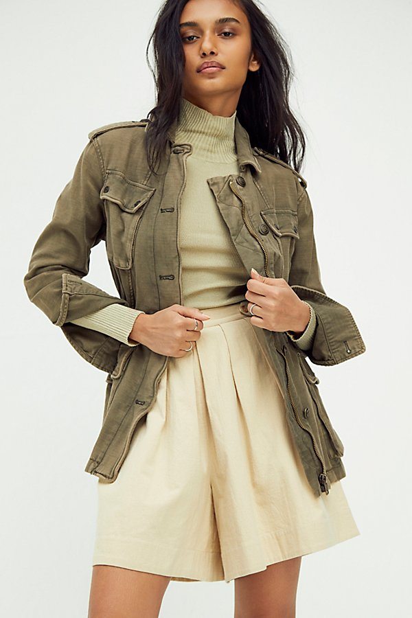 Not Your Brother's Surplus Jacket by Free People