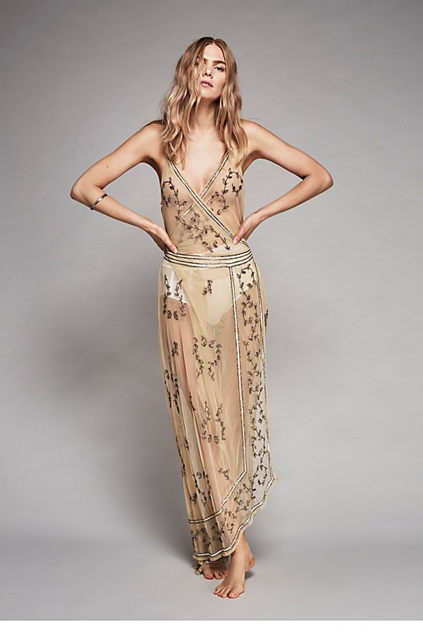 Slide View 1: Sky Fall Embellished Maxi