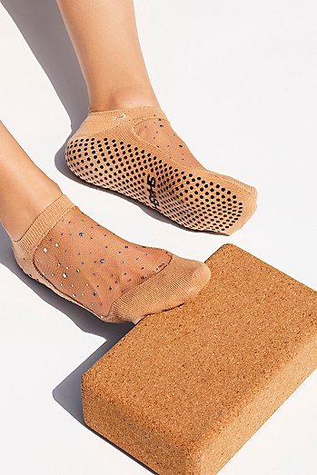 Moon Dust Yoga Sock