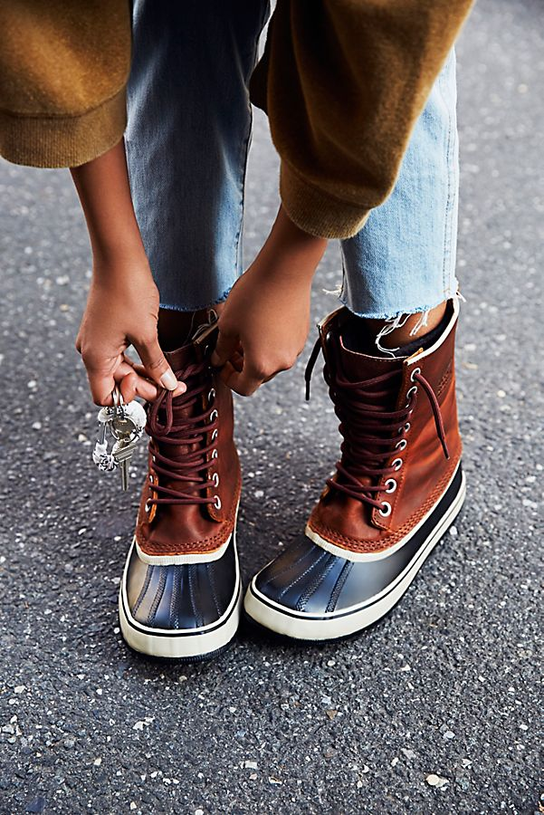 sorel 1964 Premium Leather Lace-Up Boots ywRSp