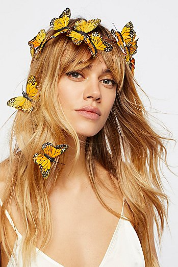 Meadow Monarch Crown Set