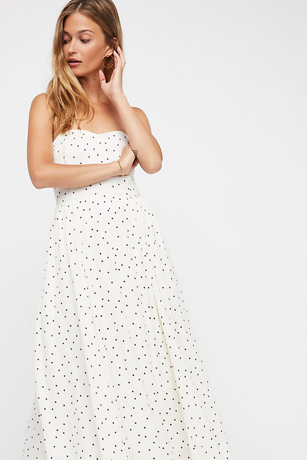 Slide View 2: Bella Donna Polka Dot Midi Dress