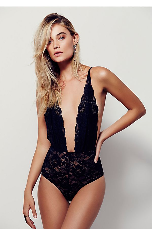 Comin' In Haht Bodysuit | Free People