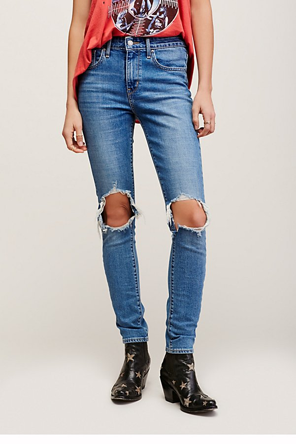 Slide View 2: Levi's 721 Rugged Skinny Jeans