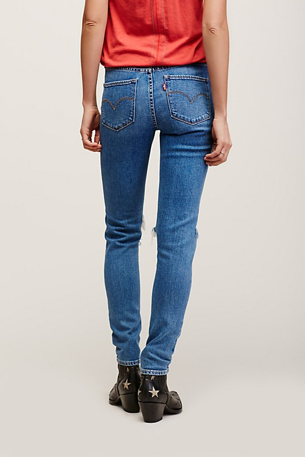 Slide View 3: Levi's 721 Rugged Skinny Jeans