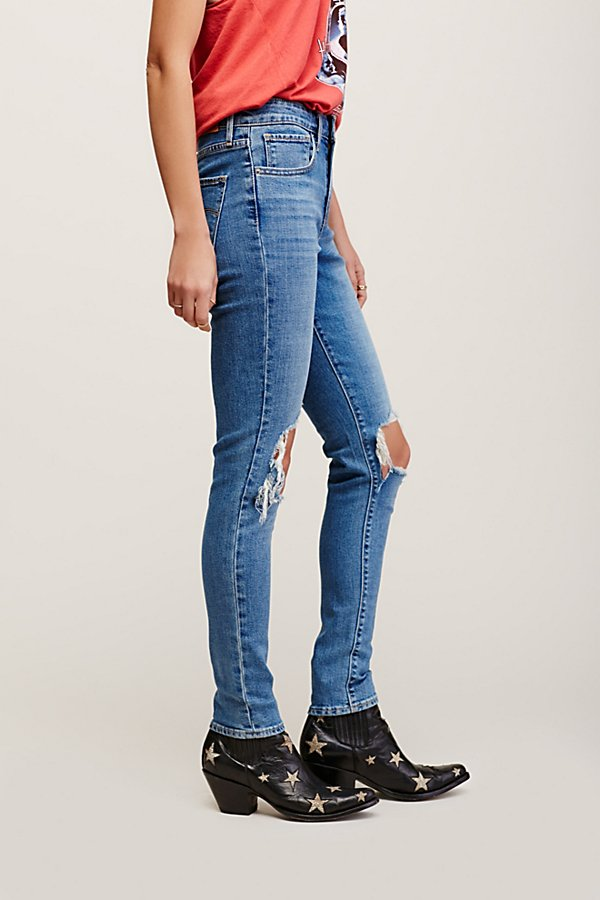 Slide View 4: Levi's 721 Rugged Skinny Jeans