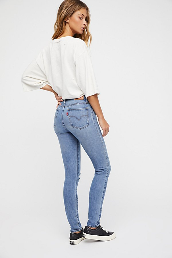 Slide View 2: Levi's 721 High-Rise Skinny Jeans